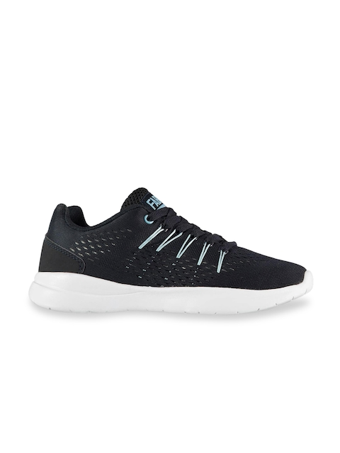 FABRIC Kids Navy Blue Mesh Montare Knit Training or Gym Shoes