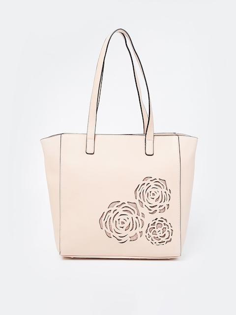 Ginger by Lifestyle Pink Solid Shoulder Bag
