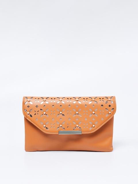 Ginger by Lifestyle Tan Brown Embellished Sling Bag
