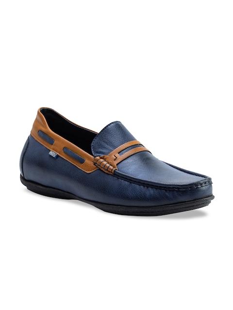 ID Men Blue Boat Shoes