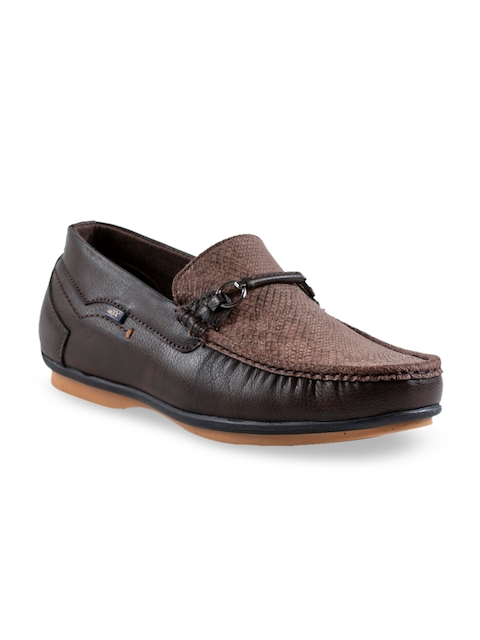 ID Men Brown Loafers