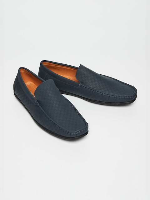 CODE by Lifestyle Men Navy Blue Loafers