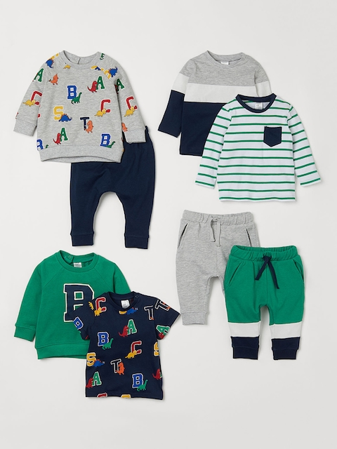 H&M Kids 8-Piece Cotton Set
