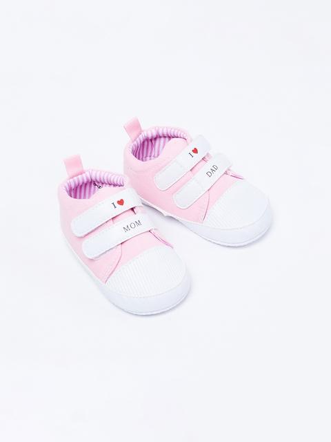 Gloire à Jamais par le mode de Vie de Garçons en Rose et Blanc j'Aime Maman Bottillons Velcro