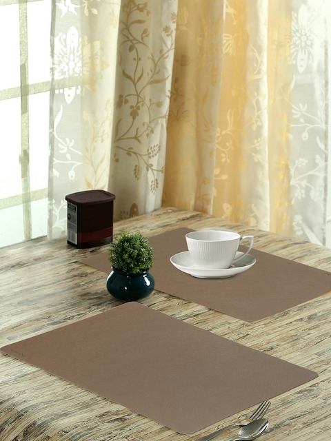 OBSESSIONS Set of 6 Brown Luca Dining Table Mat
