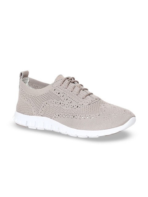 Cole Haan Women Grey ZeroGrand Stitchlite Oxford Sneakers