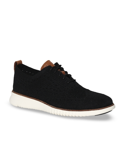 Cole Haan Men Black Lightweight Sneakers