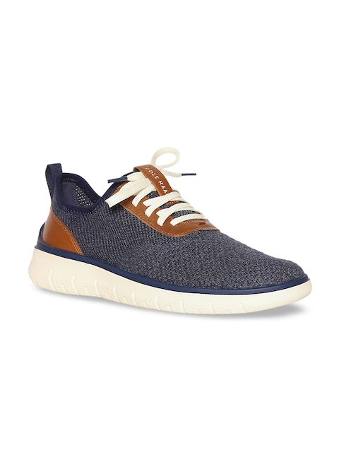 Cole Haan Men Blue Lightweight Sneakers