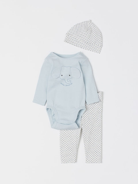 H&M Kids 3-piece Cotton Jersey Set
