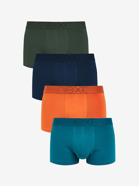 next Men Pack of 4 Solid Trunks 5059387599312