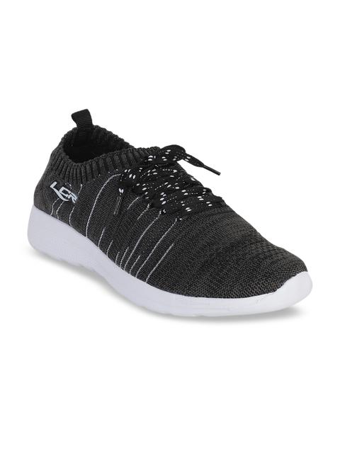 Lancer Men Charcoal Grey Lightweight Sneakers