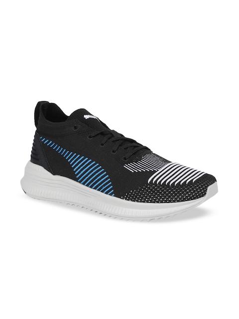 Puma Men Black AVID NU Knit Casual Shoes
