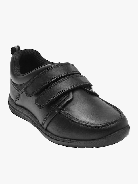 next Boys Black Formal Shoes