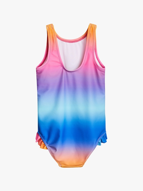 next Girls Blue Solid Swimwear 5057979103602