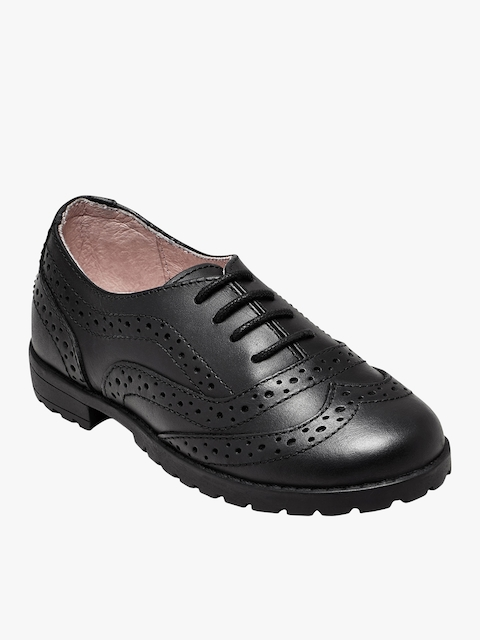 next Girls Black Dress Shoes
