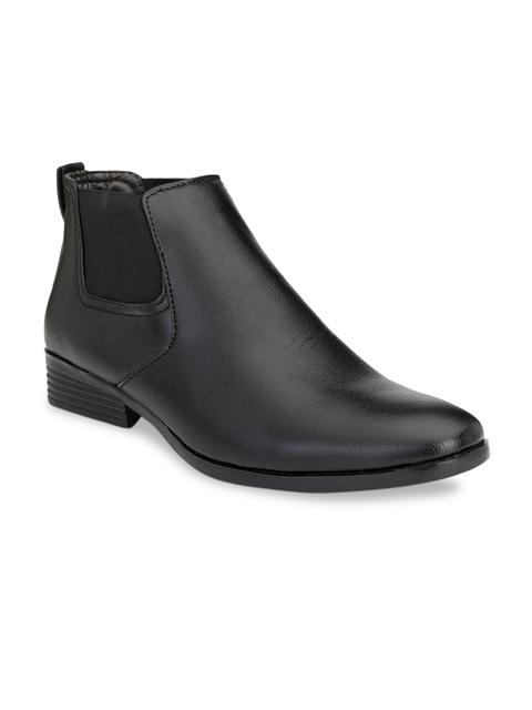 Mactree Men Black Formal Boots