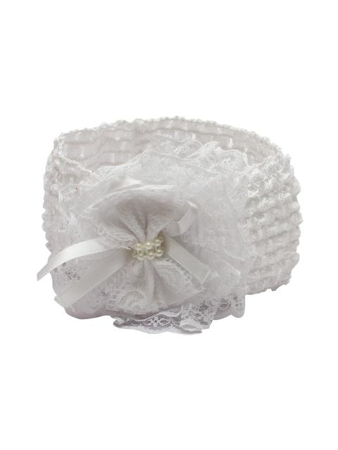 Stoln White Hairband
