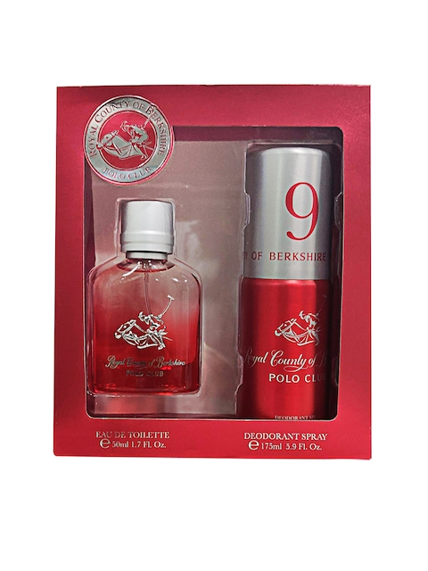Royal County of Berkshire Polo Club Men Pack of EDT Perfume & Deodorant Spray 225 ml