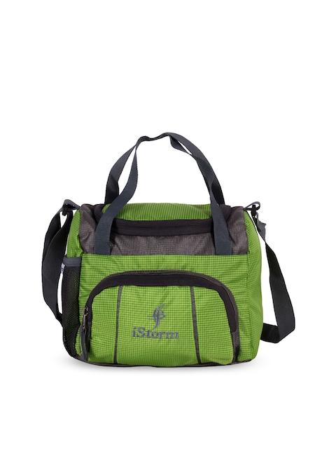 iStorm Unisex Green Travel bag