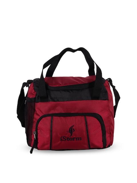 iStorm Unisex Red Travel Bag