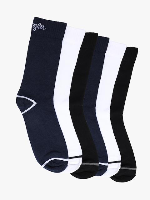 Wrangler Men Pack of 6 Assorted Above Ankle-Length Socks