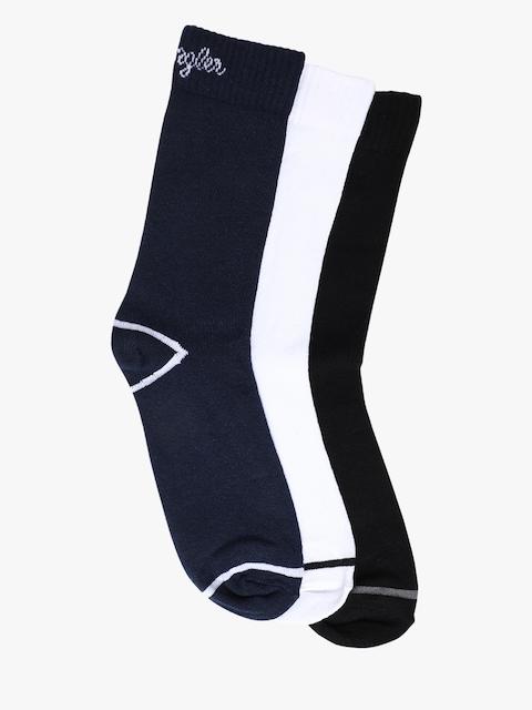 Wrangler Men Pack of 3 Assorted Above Ankle-Length Socks