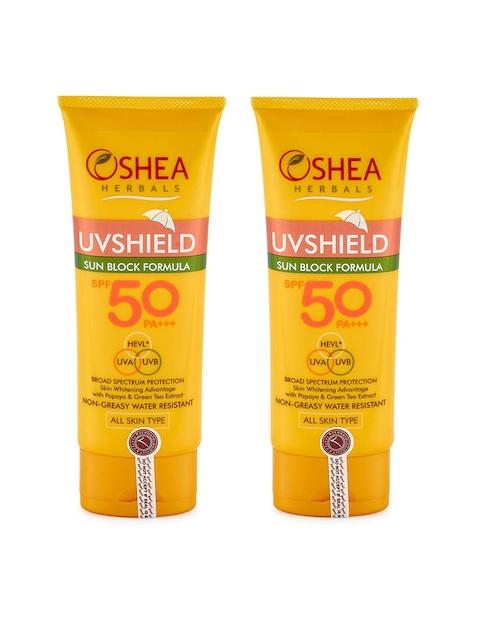 Oshea Herbals UV Shield Sun Block Formula 120gm each