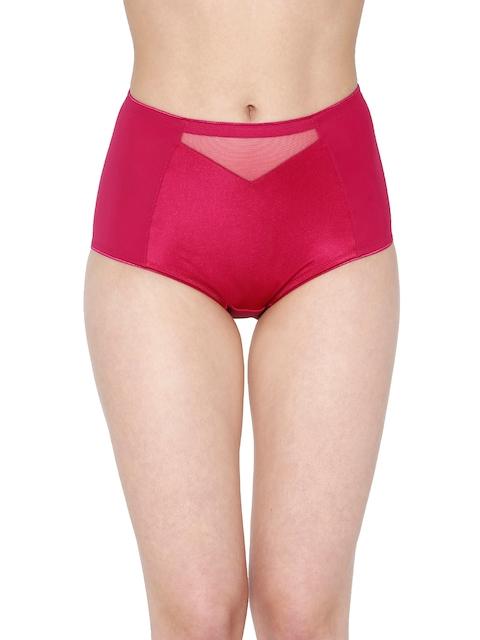Triumph Women Pink Solid High-Rise Brief 7613142653206