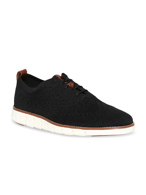Cole Haan Men Black Oxfords