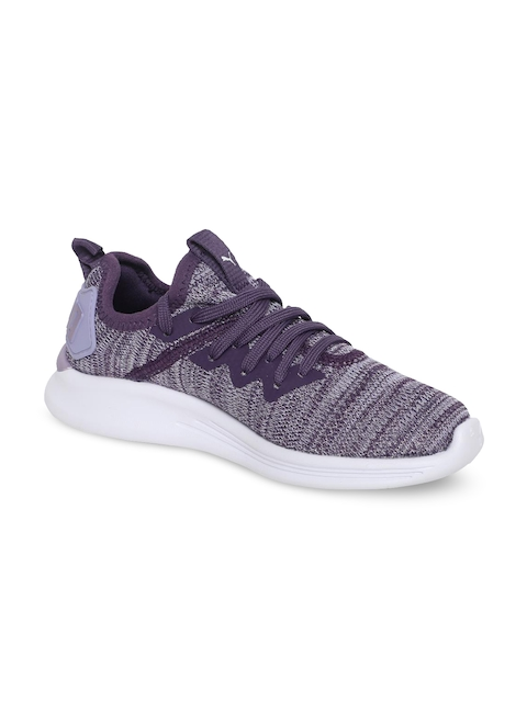 Puma Girls Purple Running Shoes 19247101-Sweet Lavender