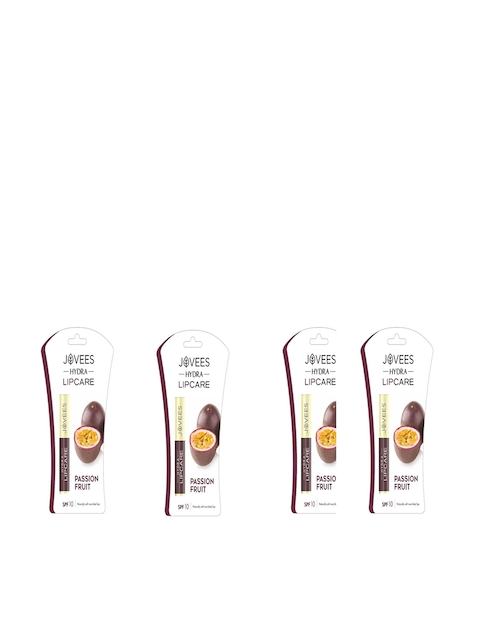 Jovees Pack of 4 Passion Fruit Hydra Lip Care 2g