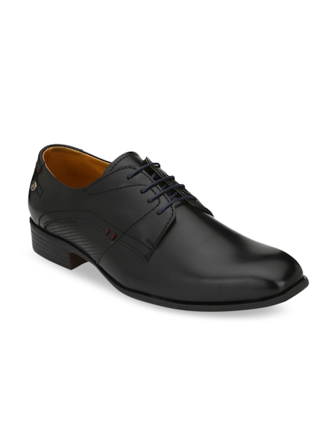 Fentacia Men Black Formal Derbys