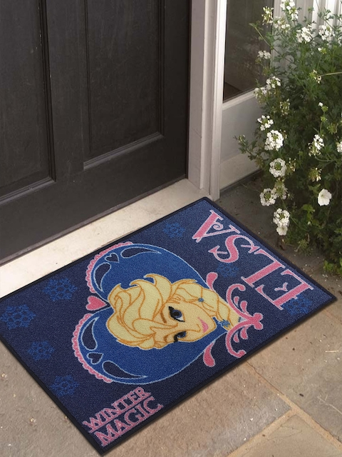 Disney Multicoloured Printed Anti-Skid Doormat