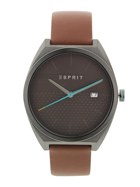 ESPRIT Men Taupe Analogue Watch ES1G056L0035