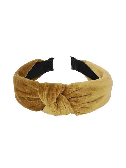 Kazo Yellow Solid Hairband