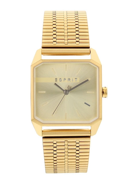 ESPRIT Women Gold-Toned Analogue Watch ES1L071M0025