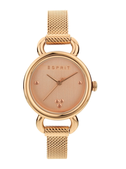 ESPRIT Women Rose Gold Analogue Watch ES1L023M0065