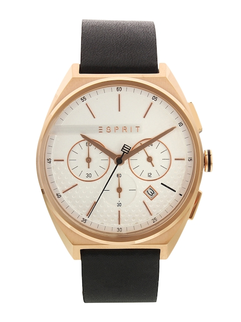 ESPRIT Men White Analogue Watch ES1G062L0035