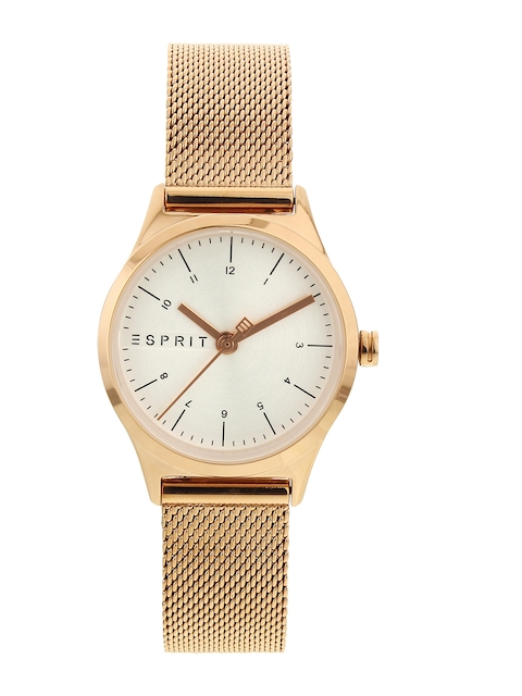 ESPRIT Women Beige Analogue Watch ES1L052M0075