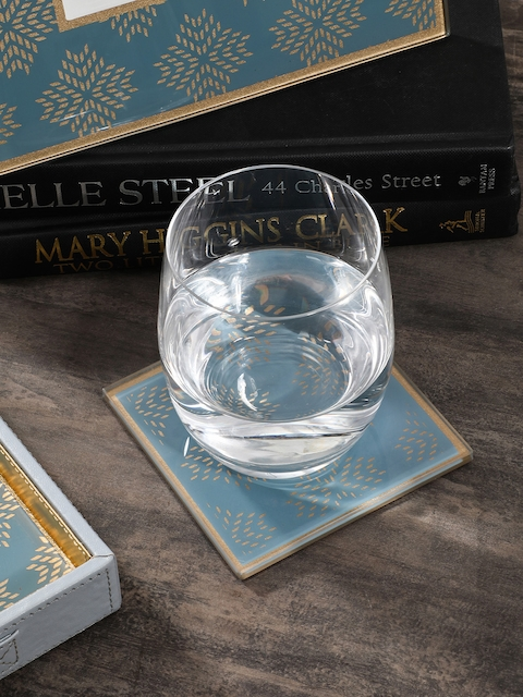 Pure Home and Living Set of 4 Printed Coasters