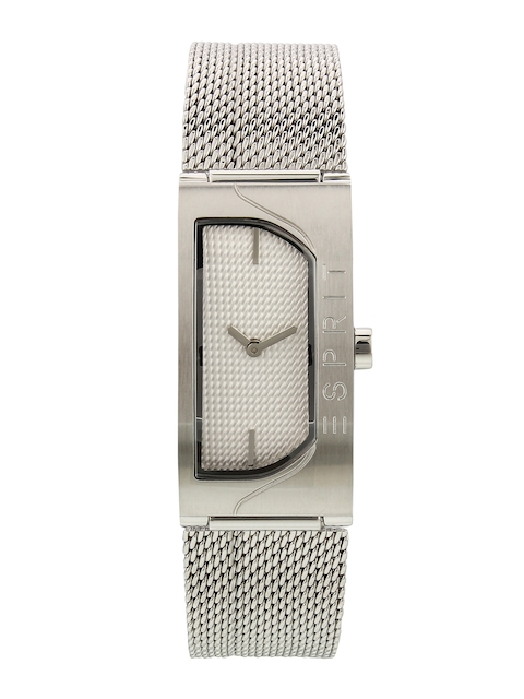 ESPRIT Women Silver-Toned Analogue Watch ES1L045M0015