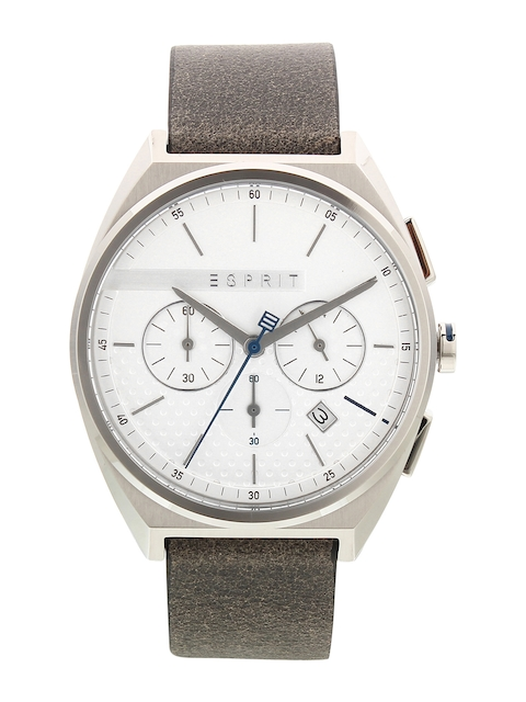 ESPRIT Men White Analogue Watch ES1G062L0015