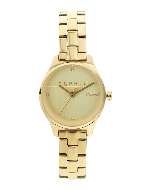 ESPRIT Women Gold-Toned Analogue Watch ES1L054M0065