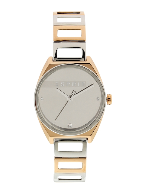 ESPRIT Women Silver-Toned Analogue Watch ES1L058M0055