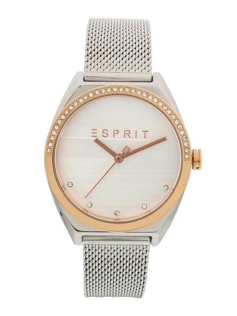 ESPRIT Women White Analogue Watch ES1L057M0085
