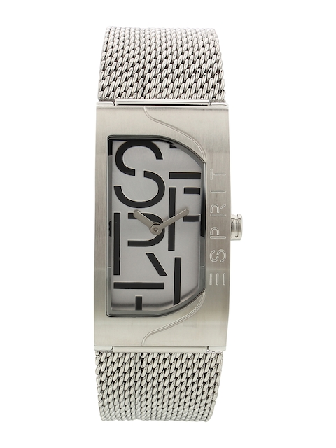 ESPRIT Women Silver-Toned Analogue Watch ES1L046M0015
