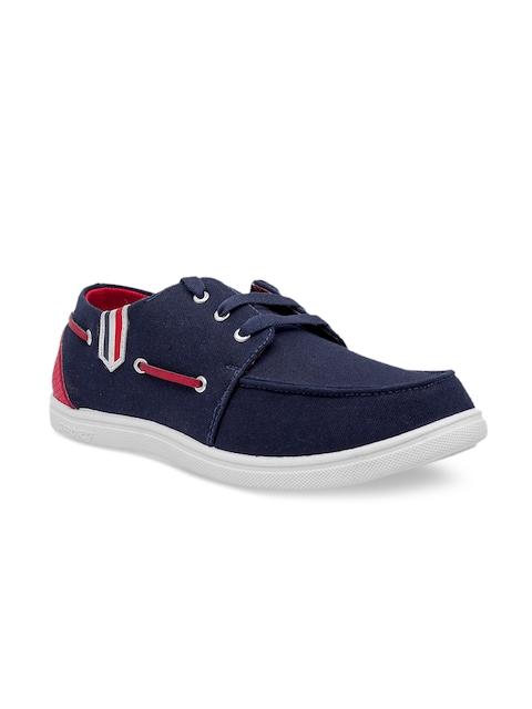 ASIAN Men Blue Boat Shoes