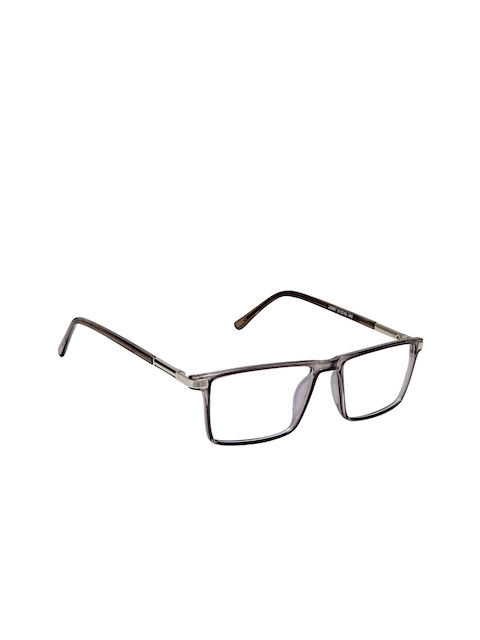 Cardon Unisex Grey Solid Full Rim Rectangle Frames EWCD2095MGL28887GRY