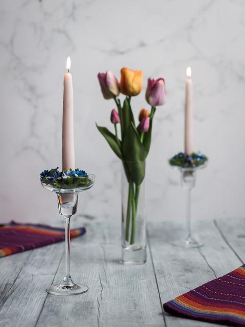 Pasabahce Transparent Glass Candle Holder