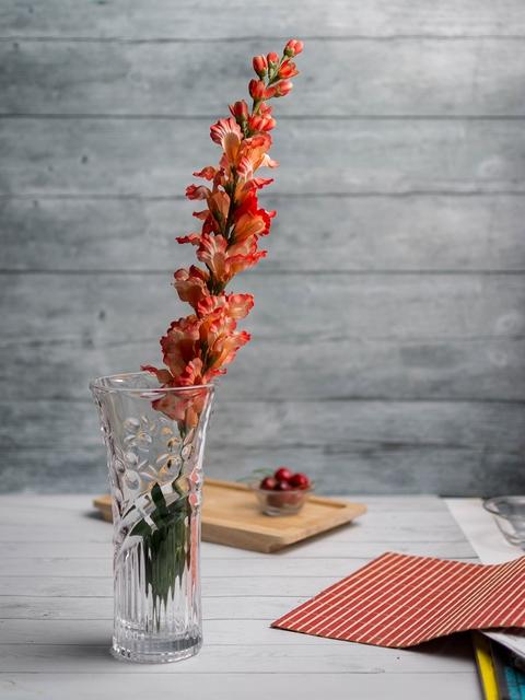 Pasabahce Transparent Glass Flower Vase